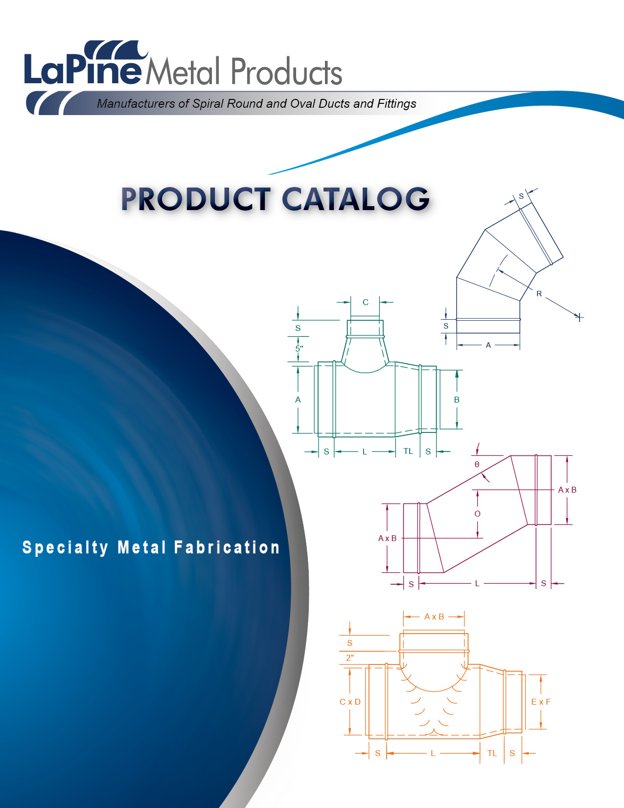 LaPine Metal Products Catalog Design