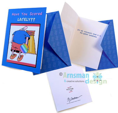 Have You Scored Lately Greeting Card